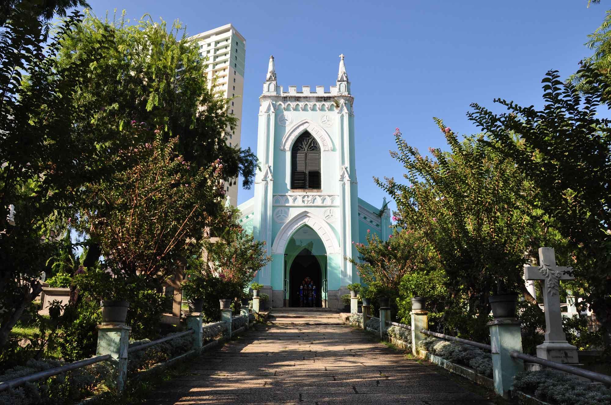 Macau Churches: Chapel of St. Michael