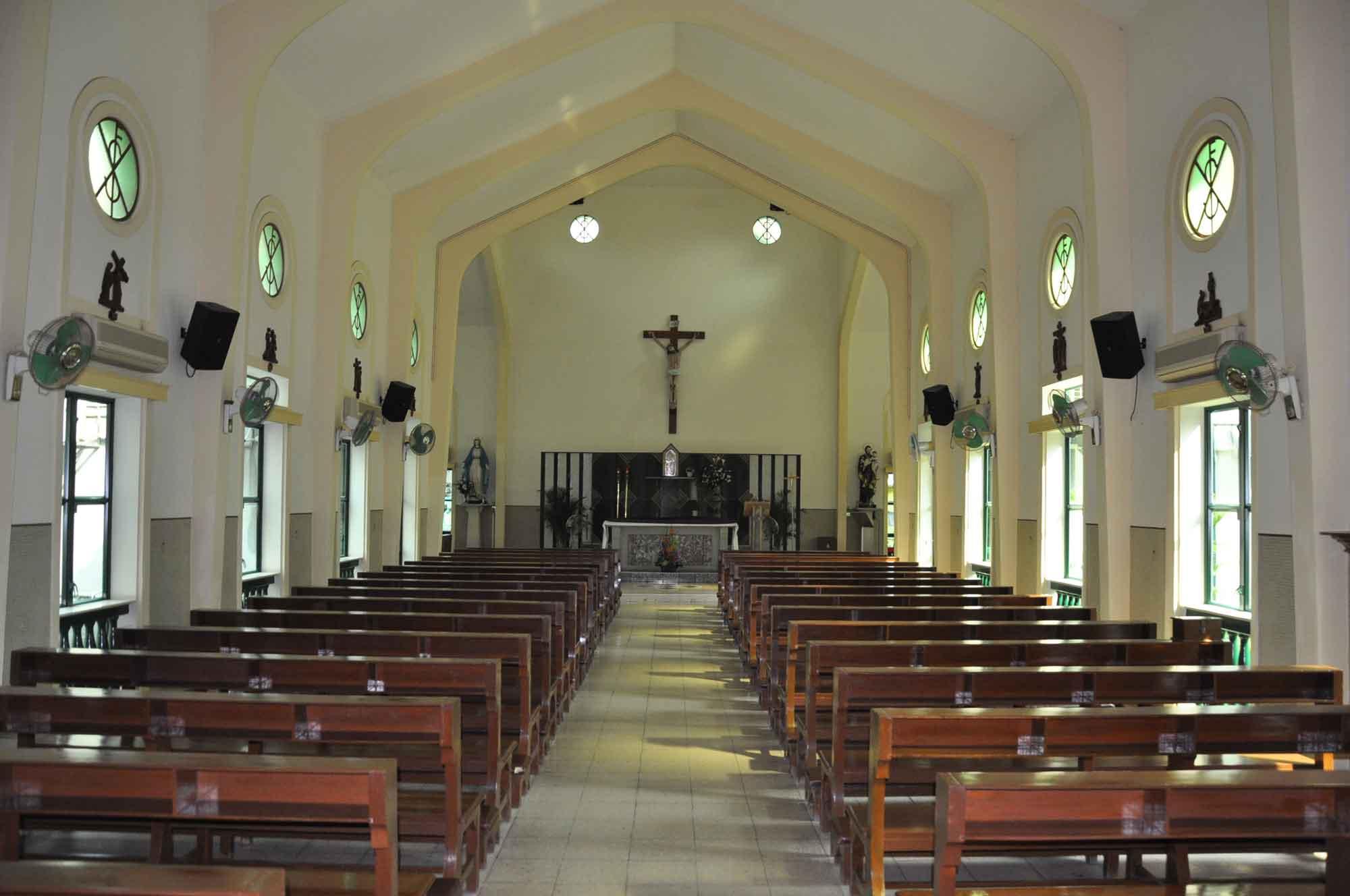 St. Francis Xavier Church Macau interior