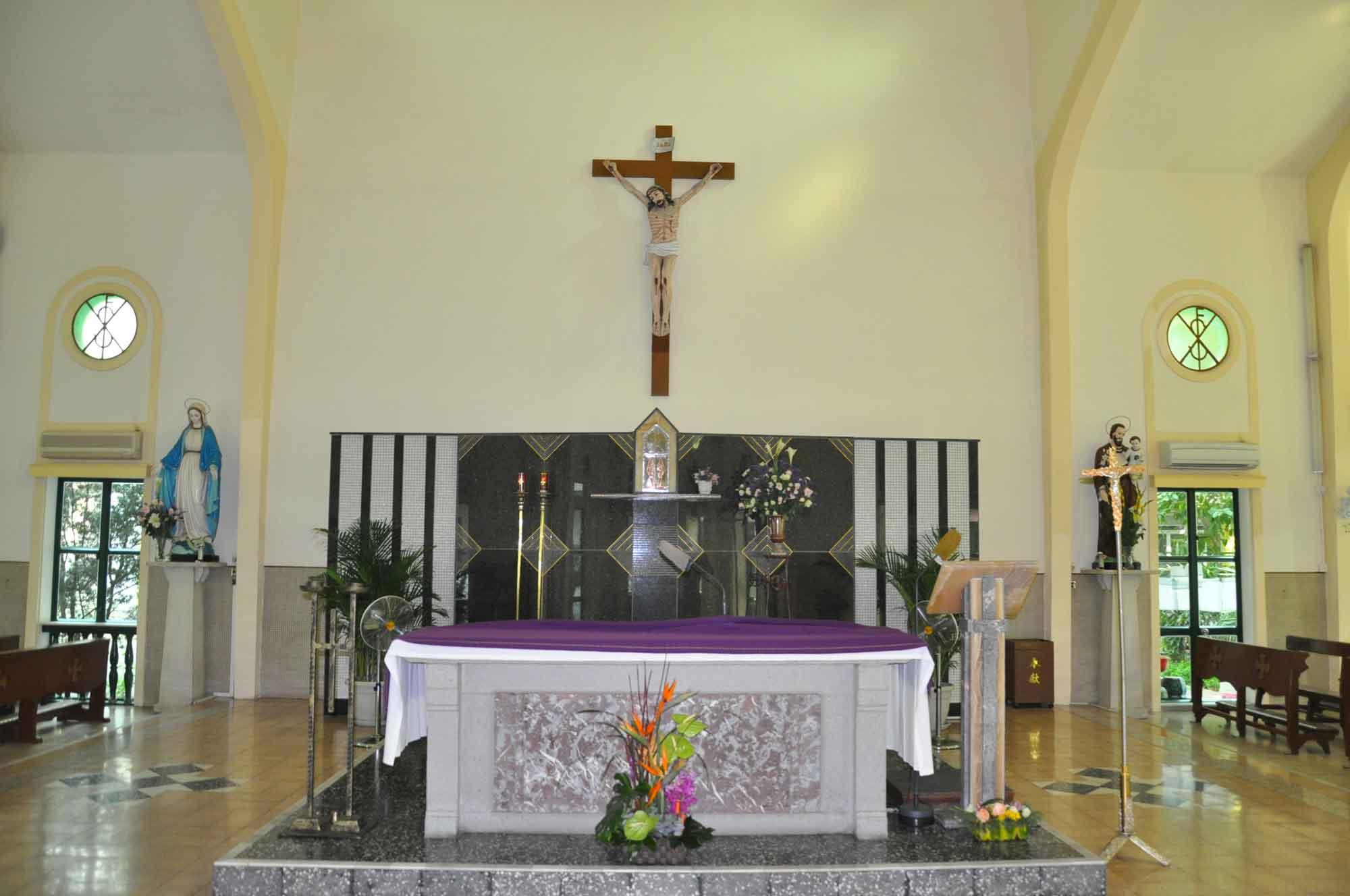 St. Francis Xavier Church main altar