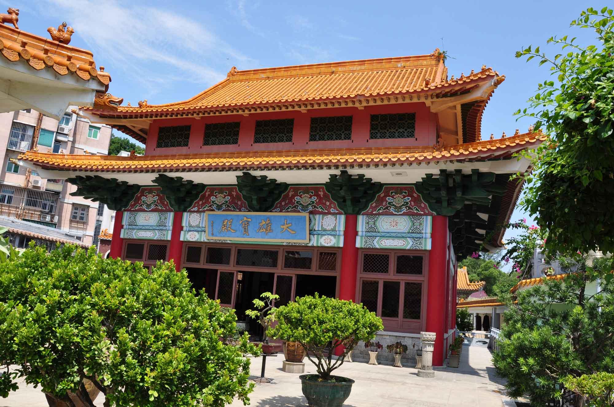 Taipa Temples: Poi Tai Un Monastery temple building