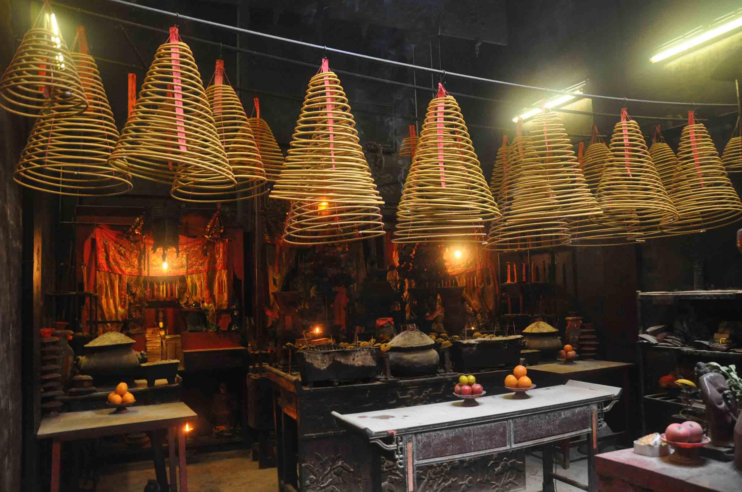 Shi Gan Dang Temple interior