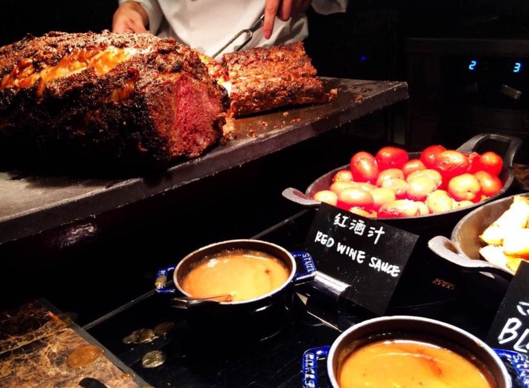 Urban Kitchen Macau meat station