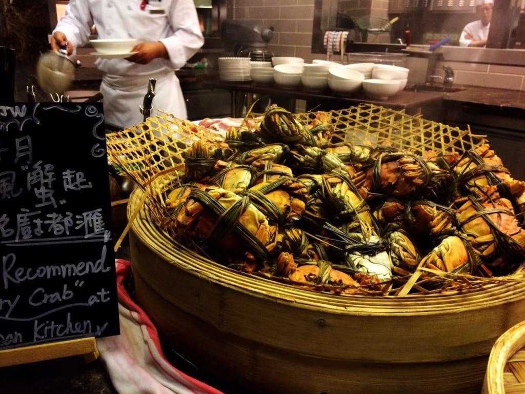 Urban Kitchen Macau crab station