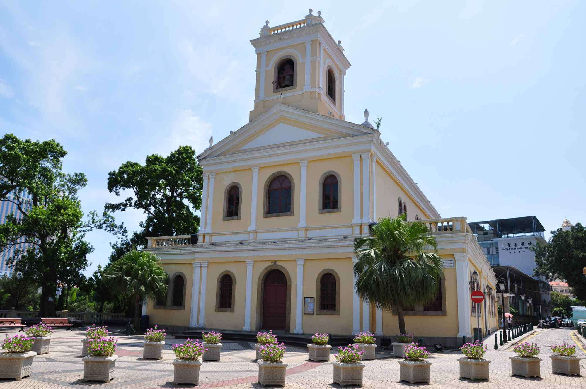 Taipa Churches: Our Lady Of Carmel Church