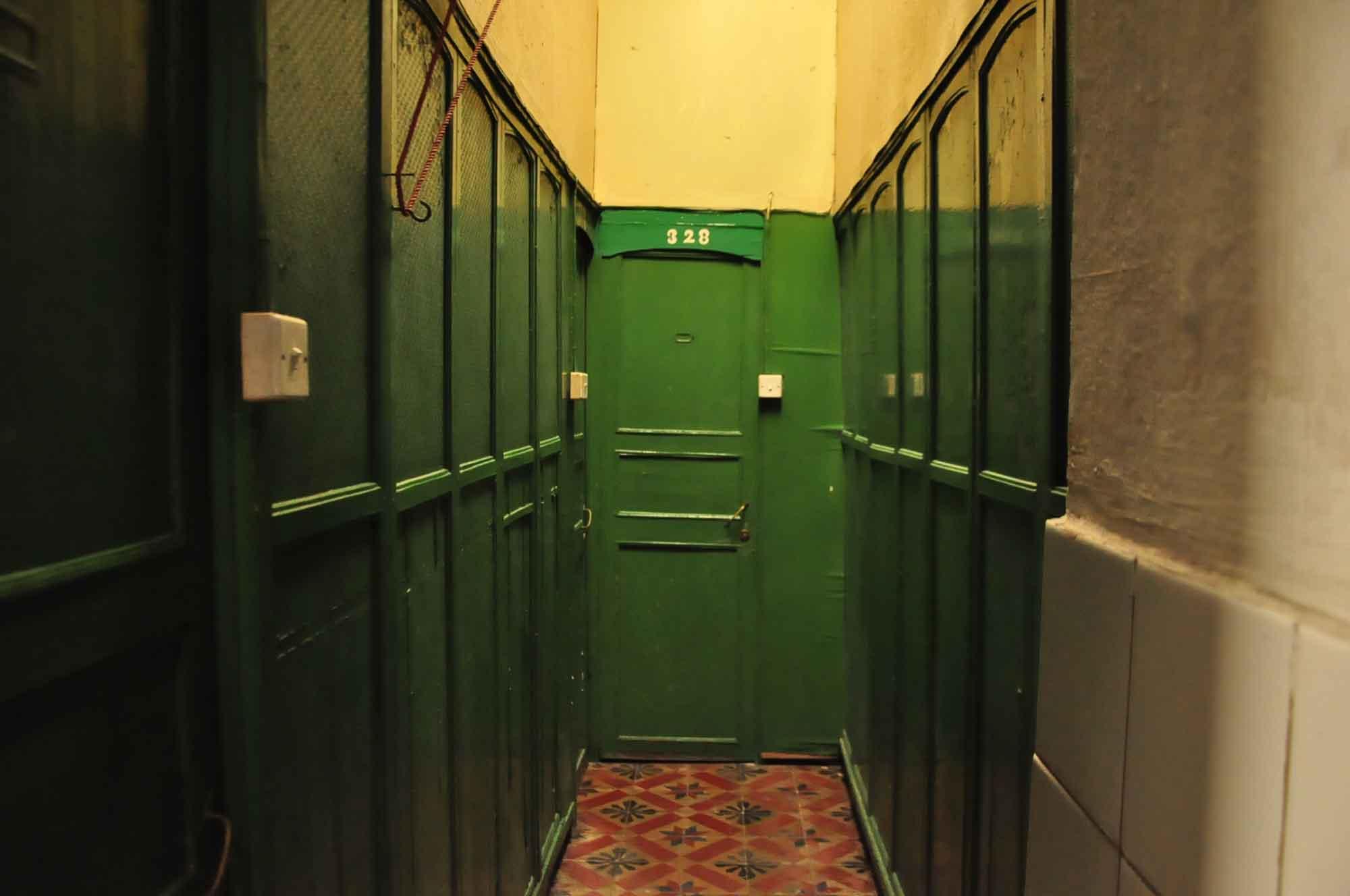 San Va Hotel hallway