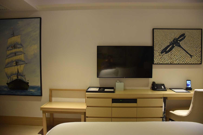 Macau budget hotels Caravel Hotel TV