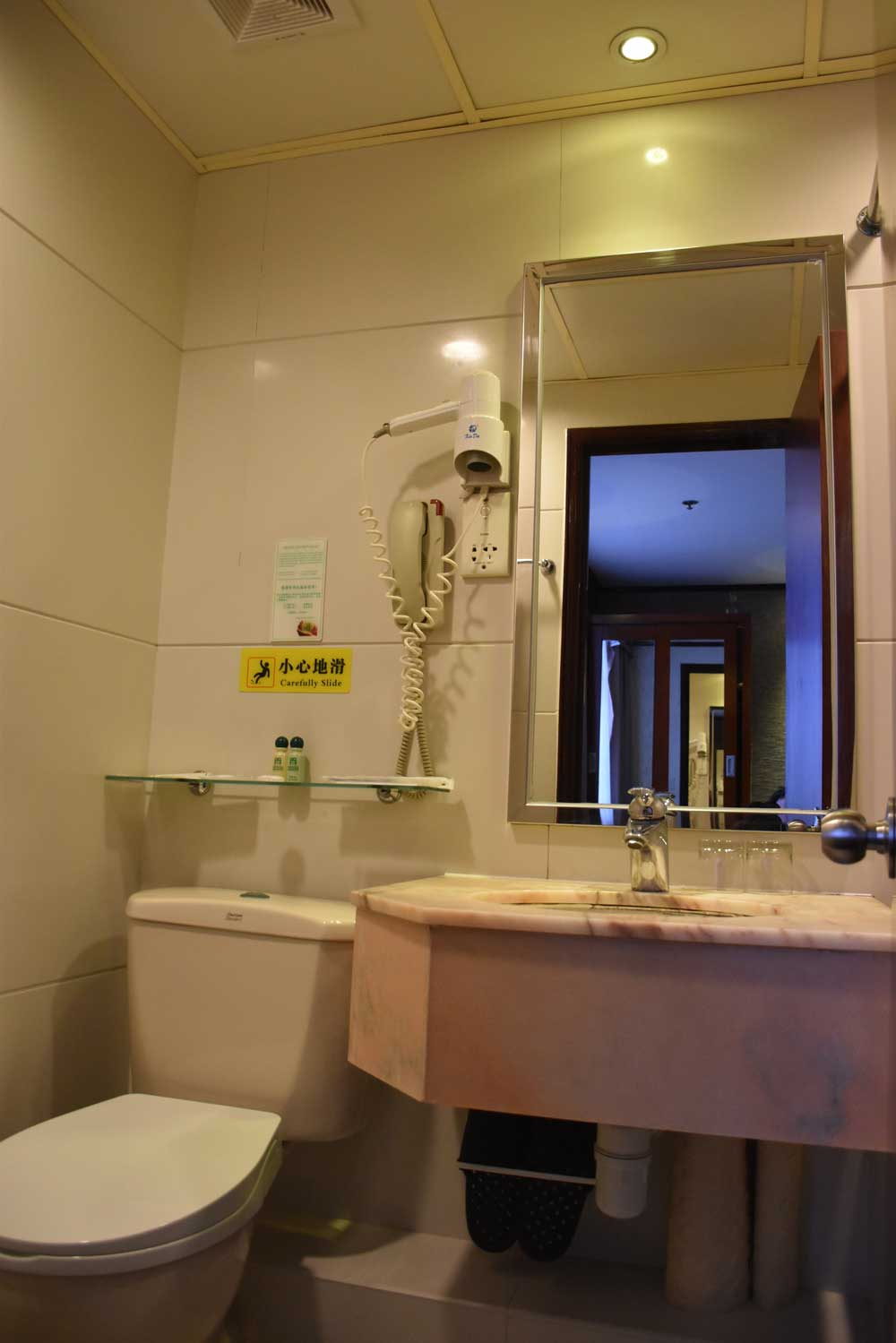 Macau Masters bathroom