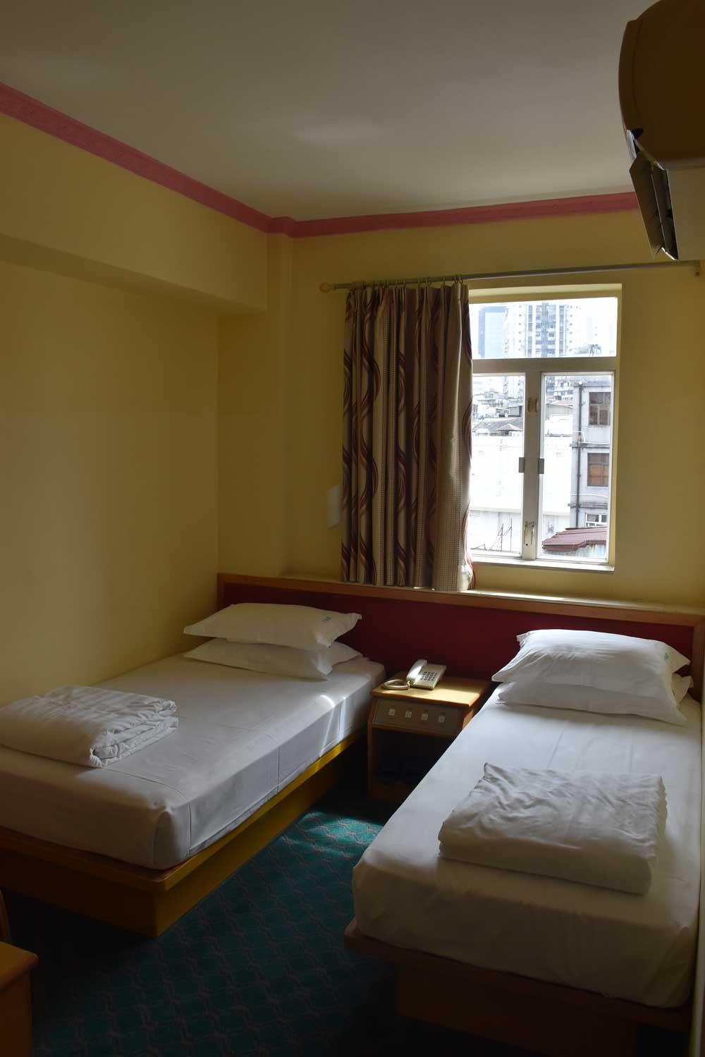 Hotel Man Va Macau room