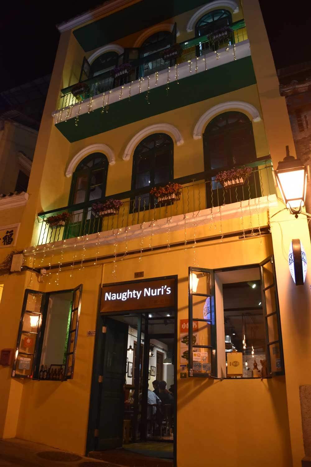 Naughty Nuri's Macau
