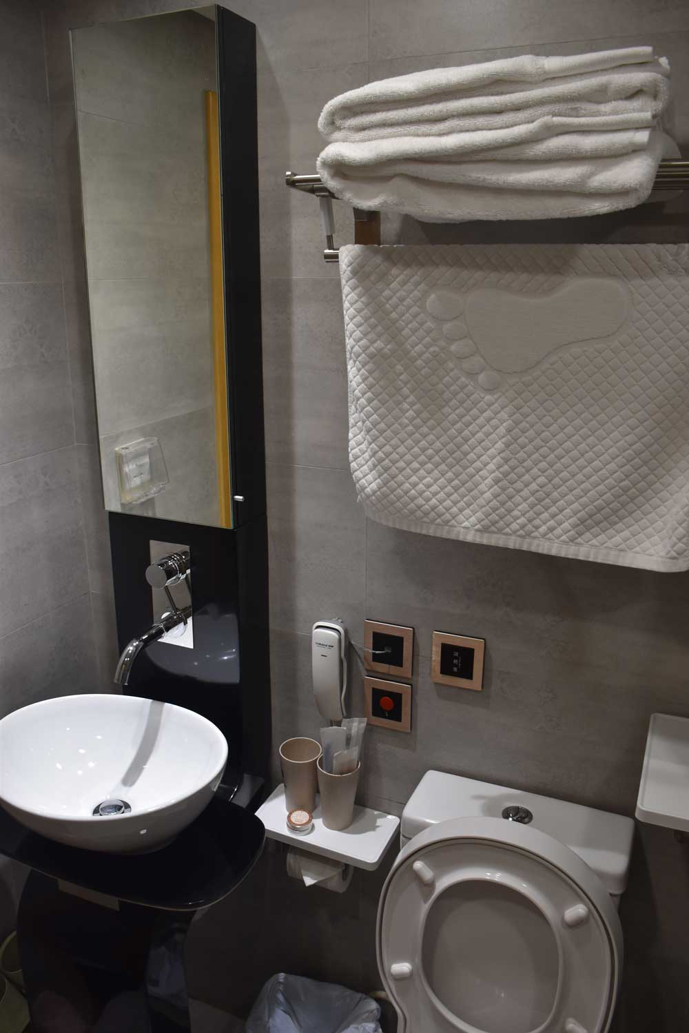 Macau Budget Hotels San Tung Fong Commercial Inn bathroom