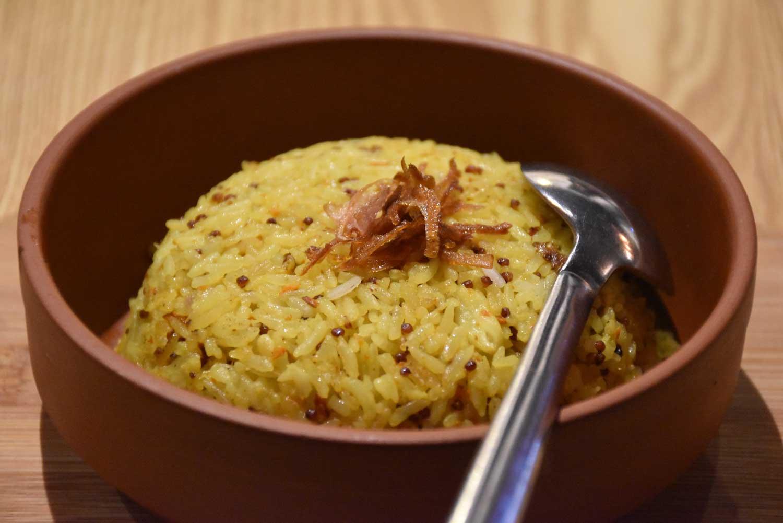 Turmeric Rice Naughty Nuri's Macau