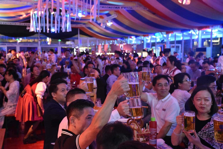 Oktoberfest Macau beer hall
