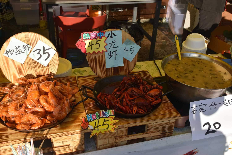 Macau Food Festival seafood and soup