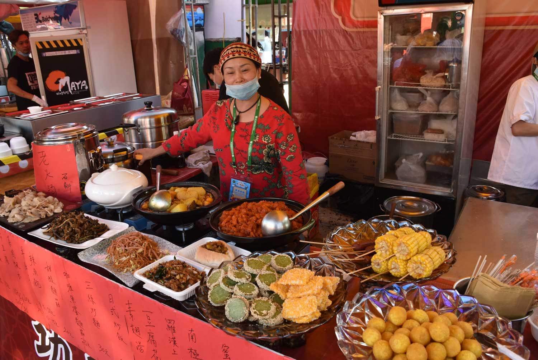 Macau Food Festival food booth