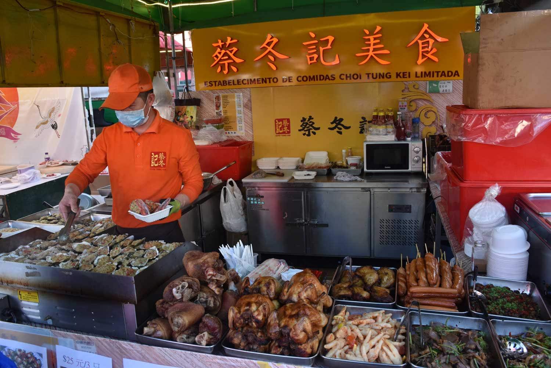 Macau Food Festival Tung Kei food booth