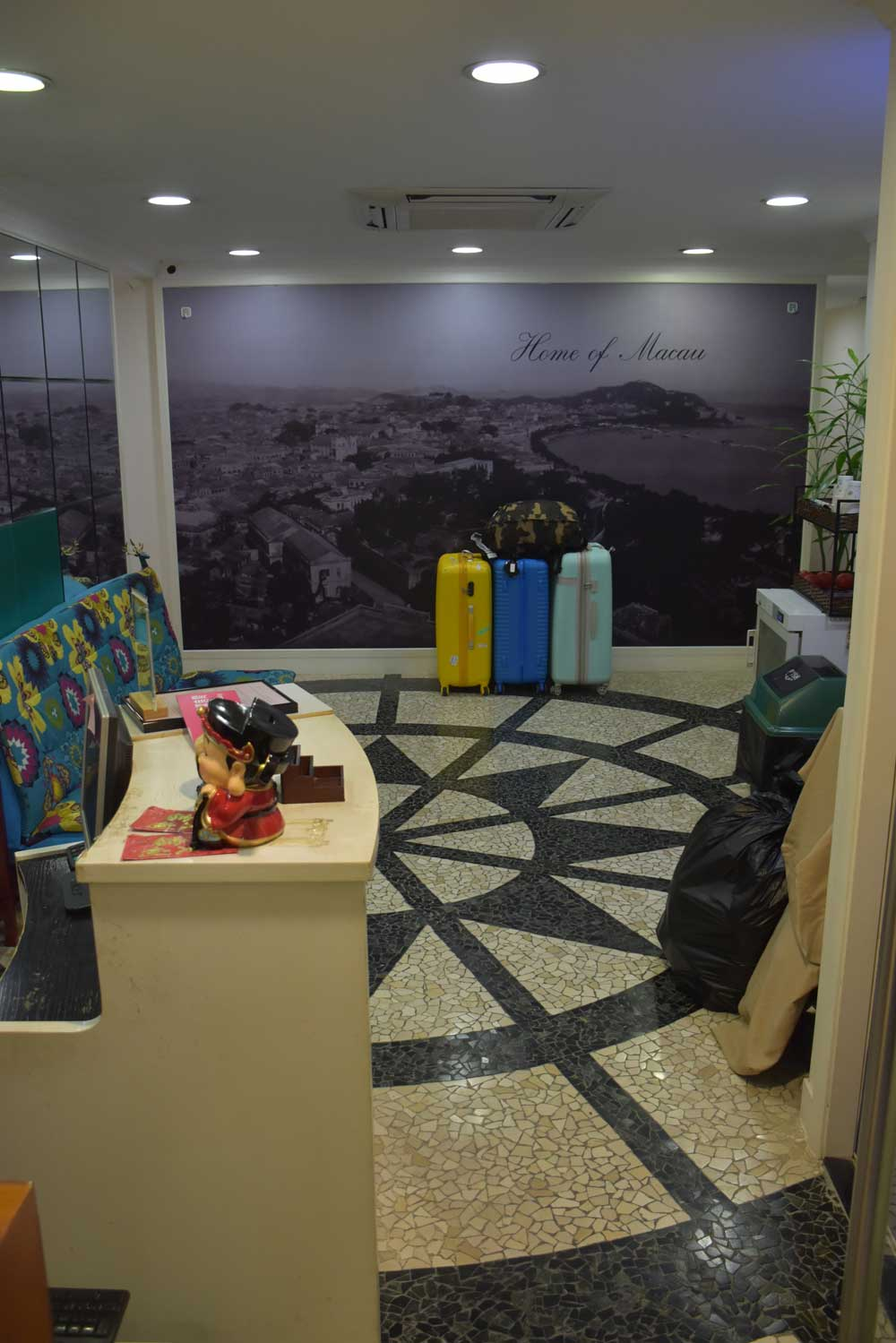 Macau Home Hotel lobby