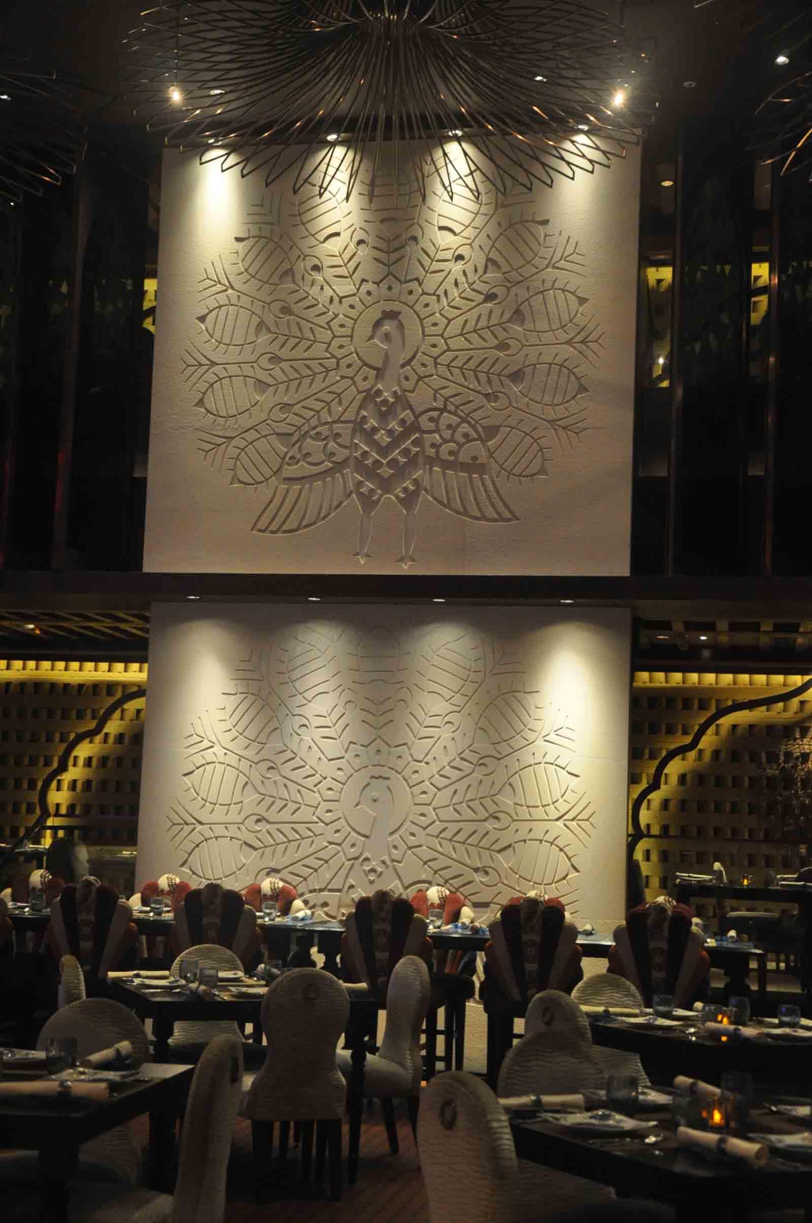 Golden Peacock Macau peacock design