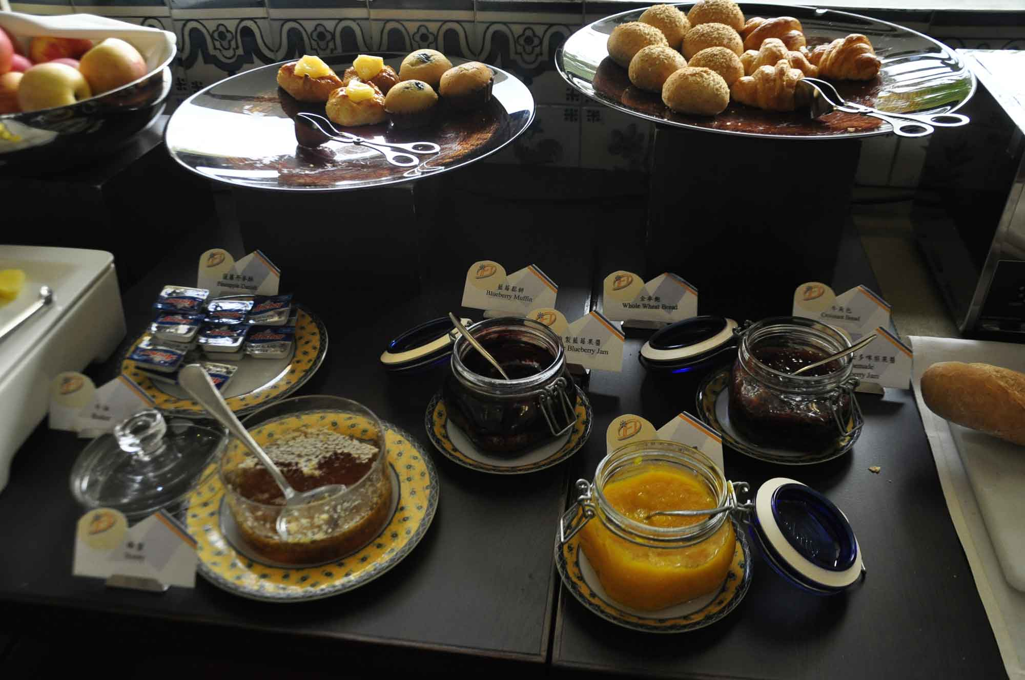 Pousada de Mong Ha buffet breakfast