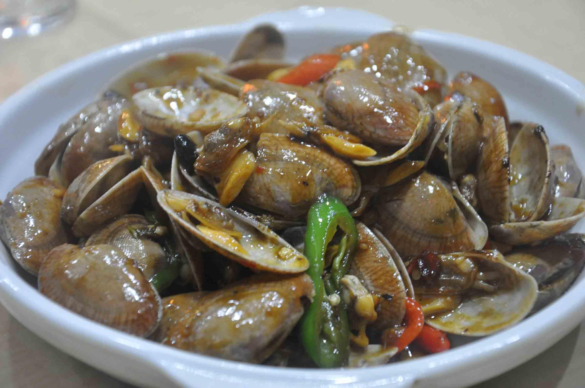 Fu Lai Seafood clams