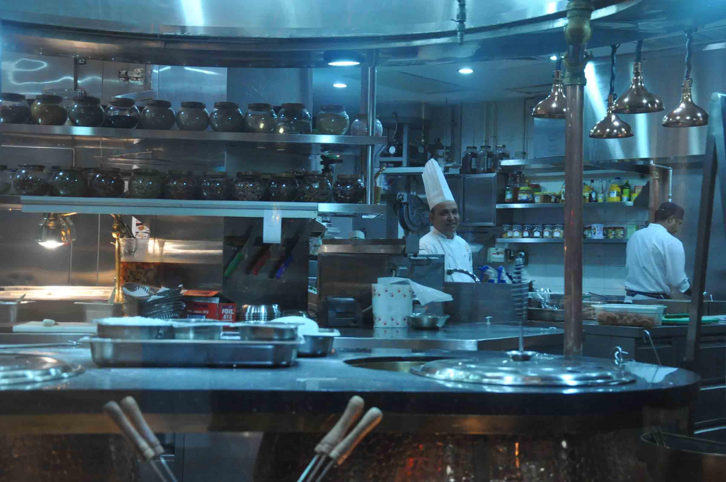 Golden Peacock Macau kitchen