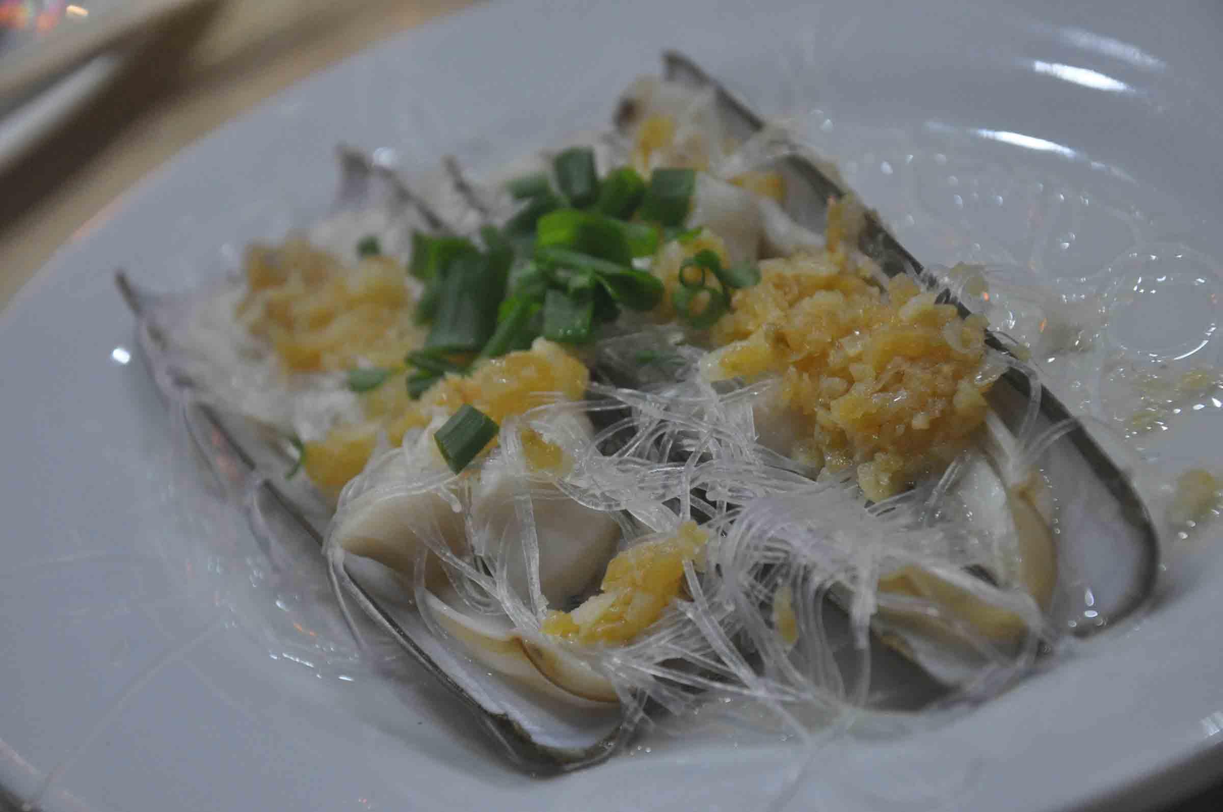 Fu Lai Seafood razor clam