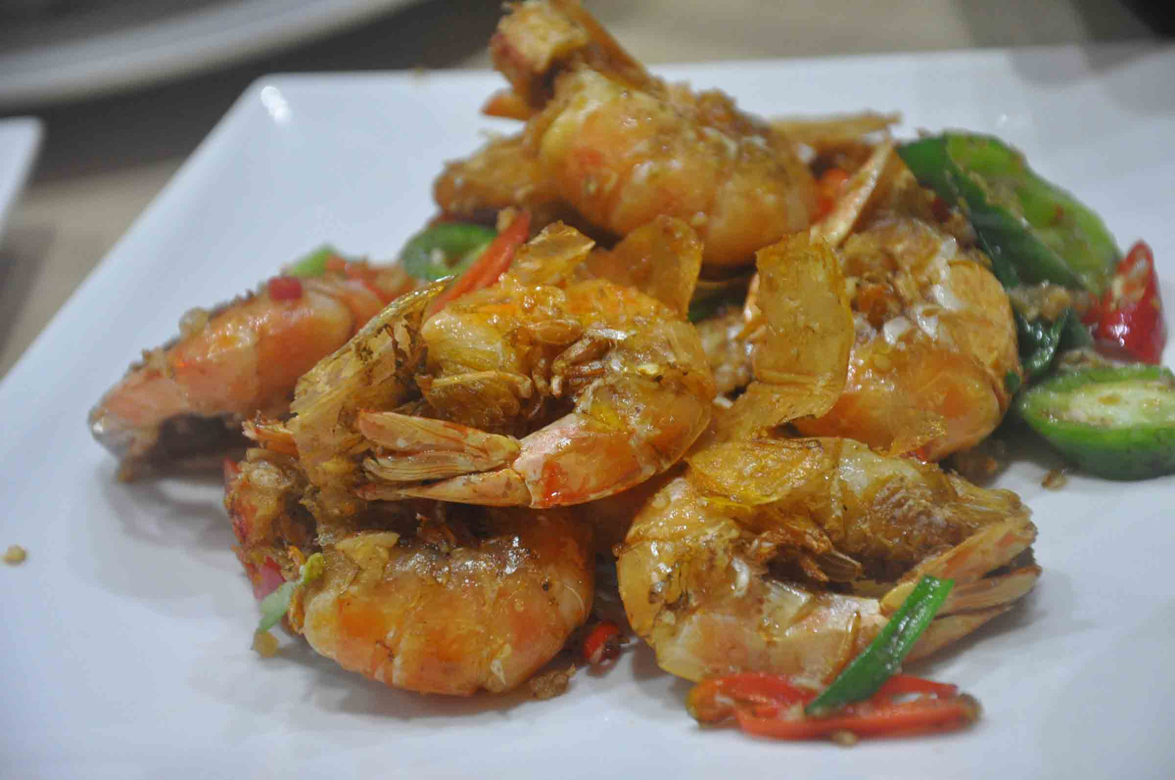 Fu Lai Seafood fried shrimp