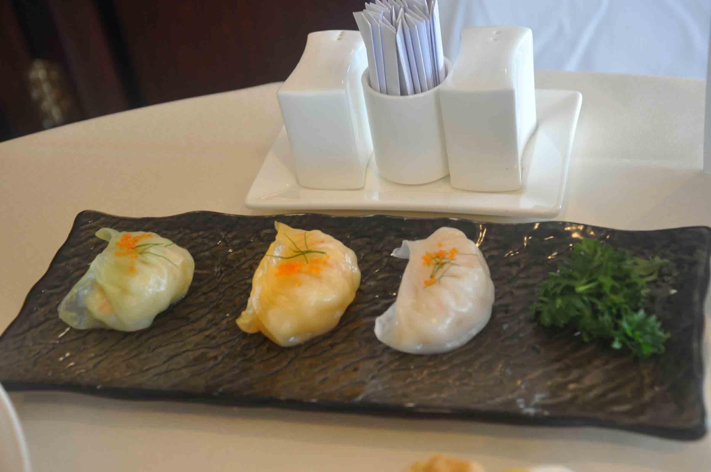 Kwun Koi Heen Steamed Prawn Dumplings