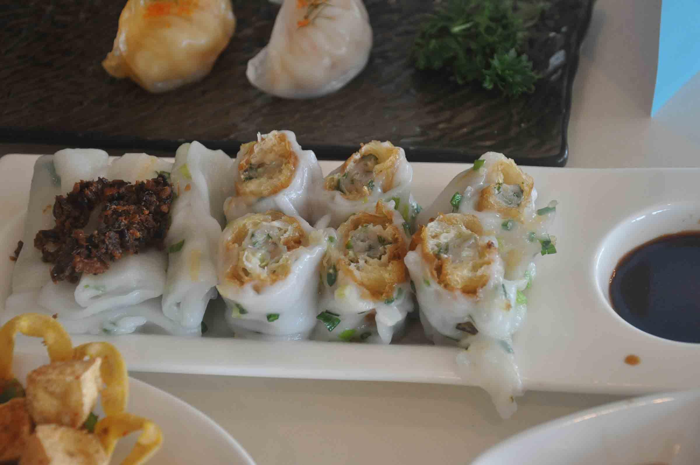 Kwun Koi Heen Steamed Rice Rolls