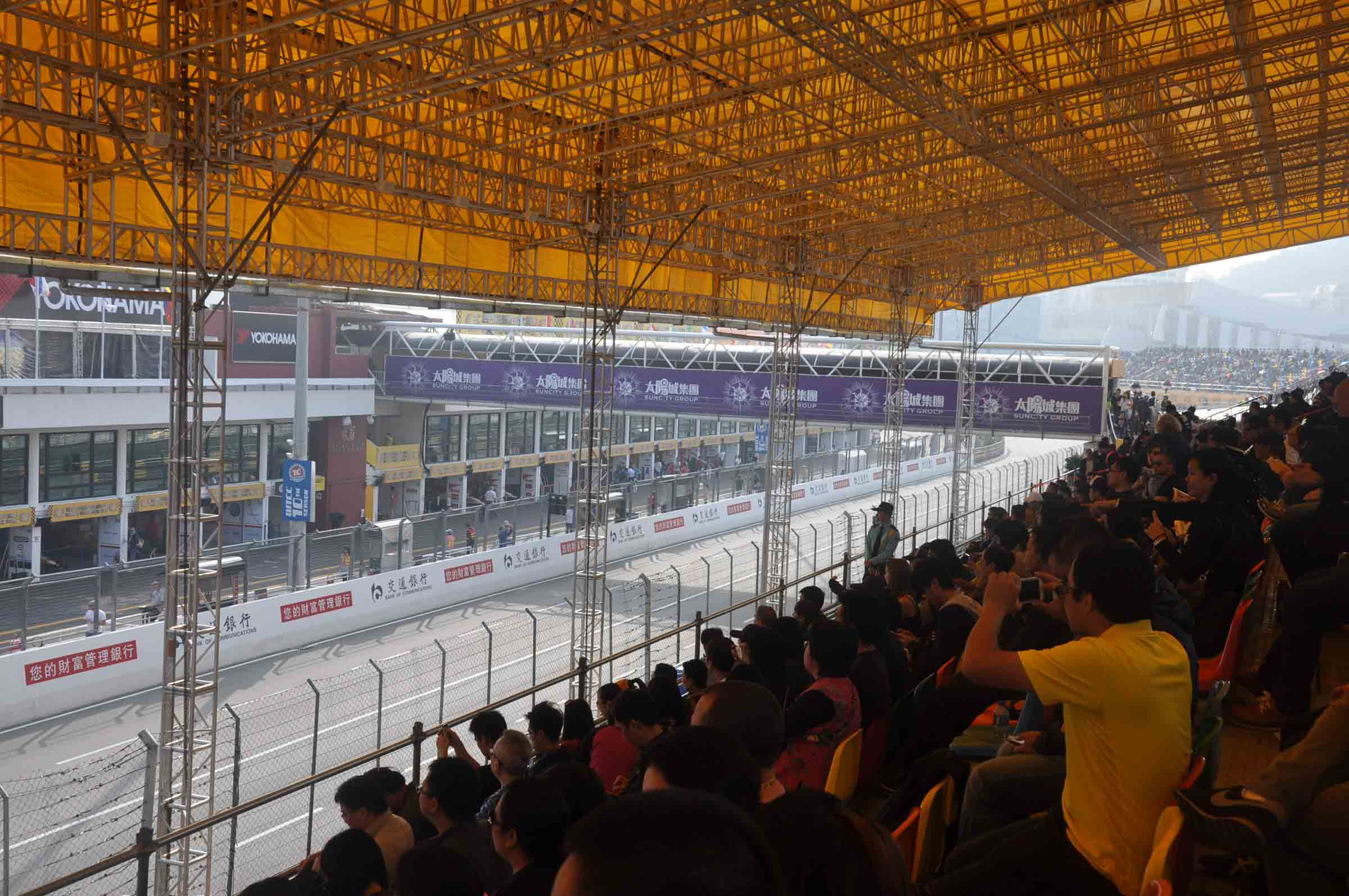 F3 Macau Grand Prix Race Grandstand Seats