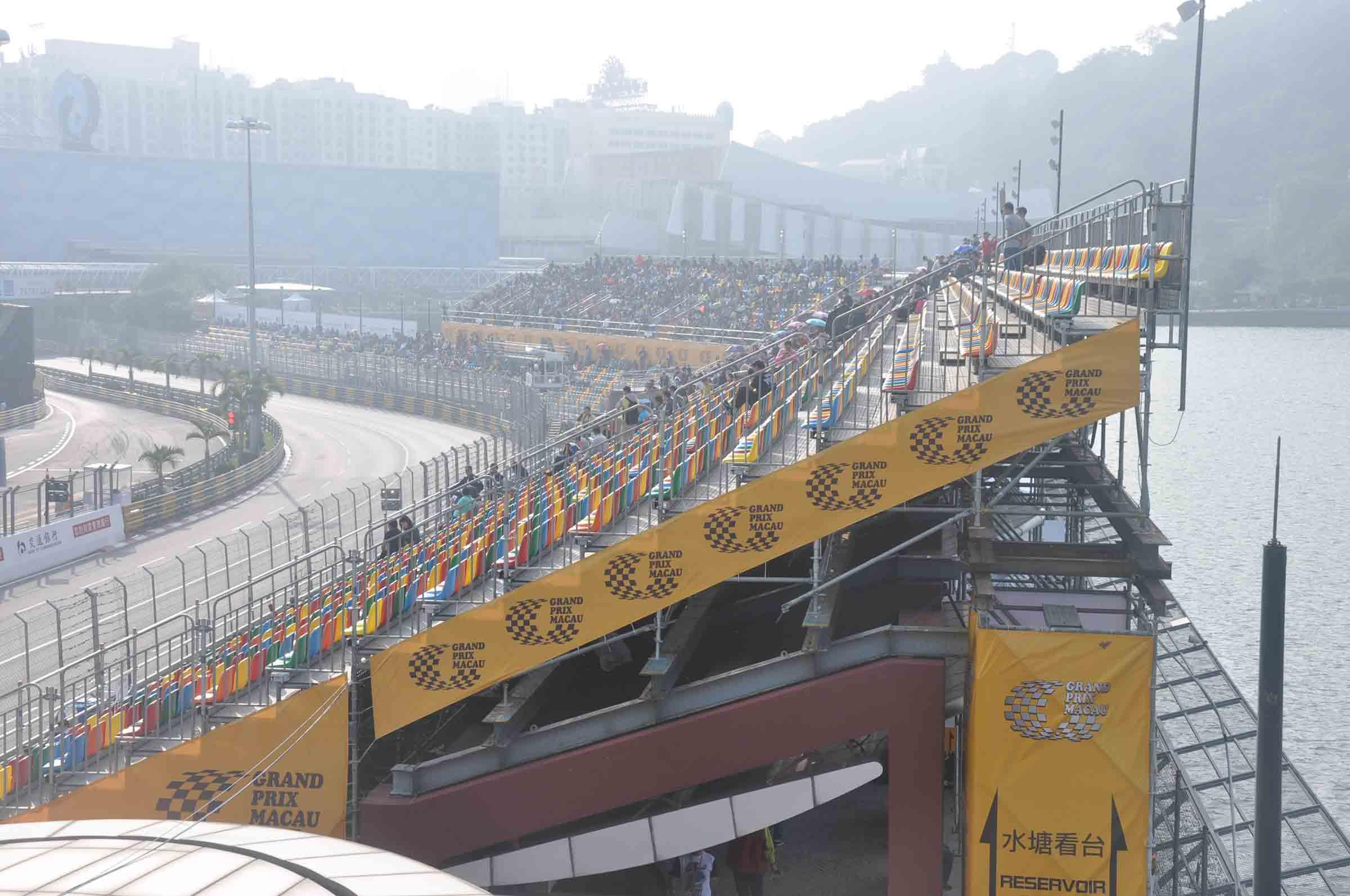 Macau F3 Grand Prix Race Reservoir Stand