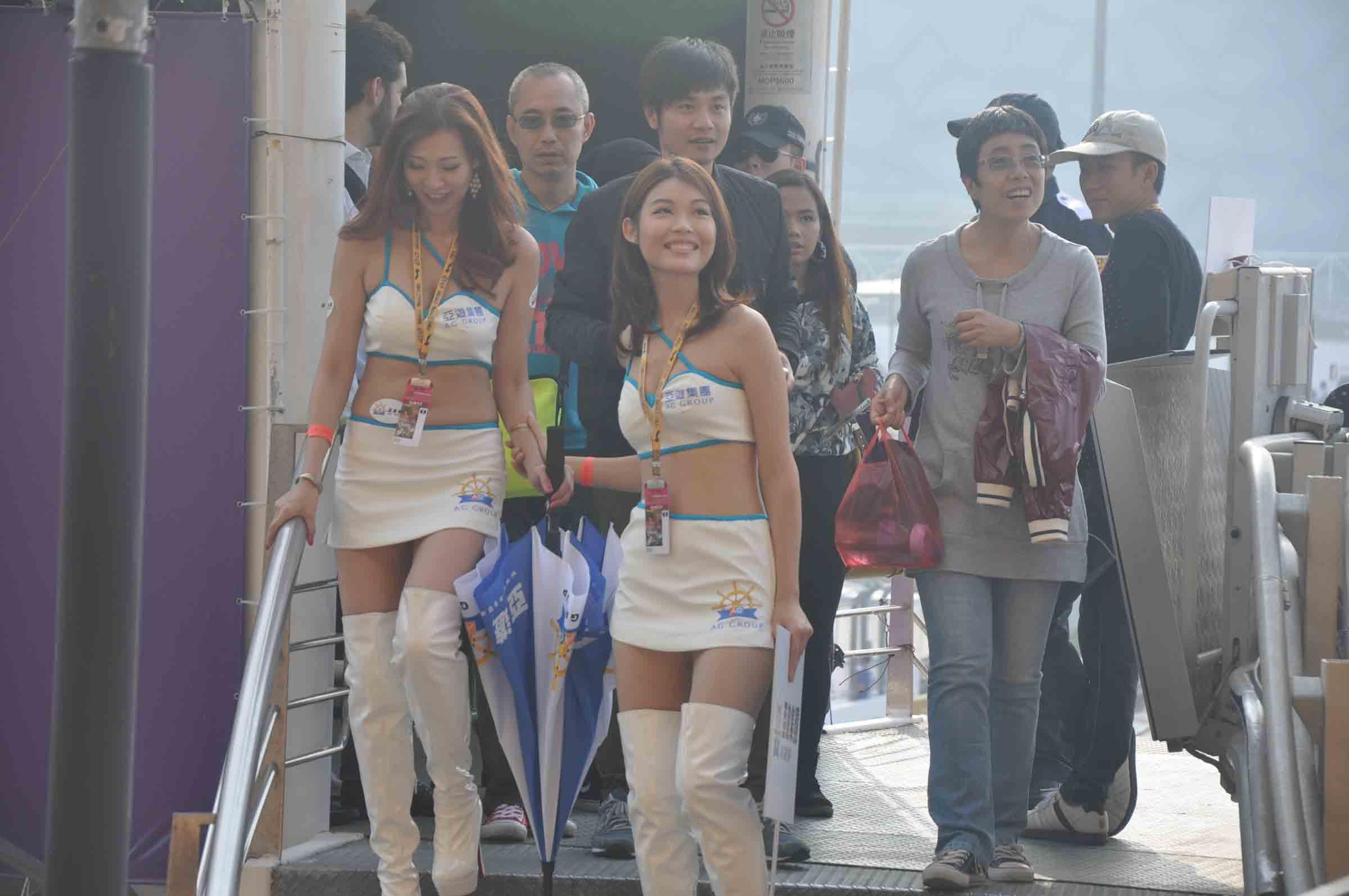 Macau F3 Grand Prix Race hot race girls