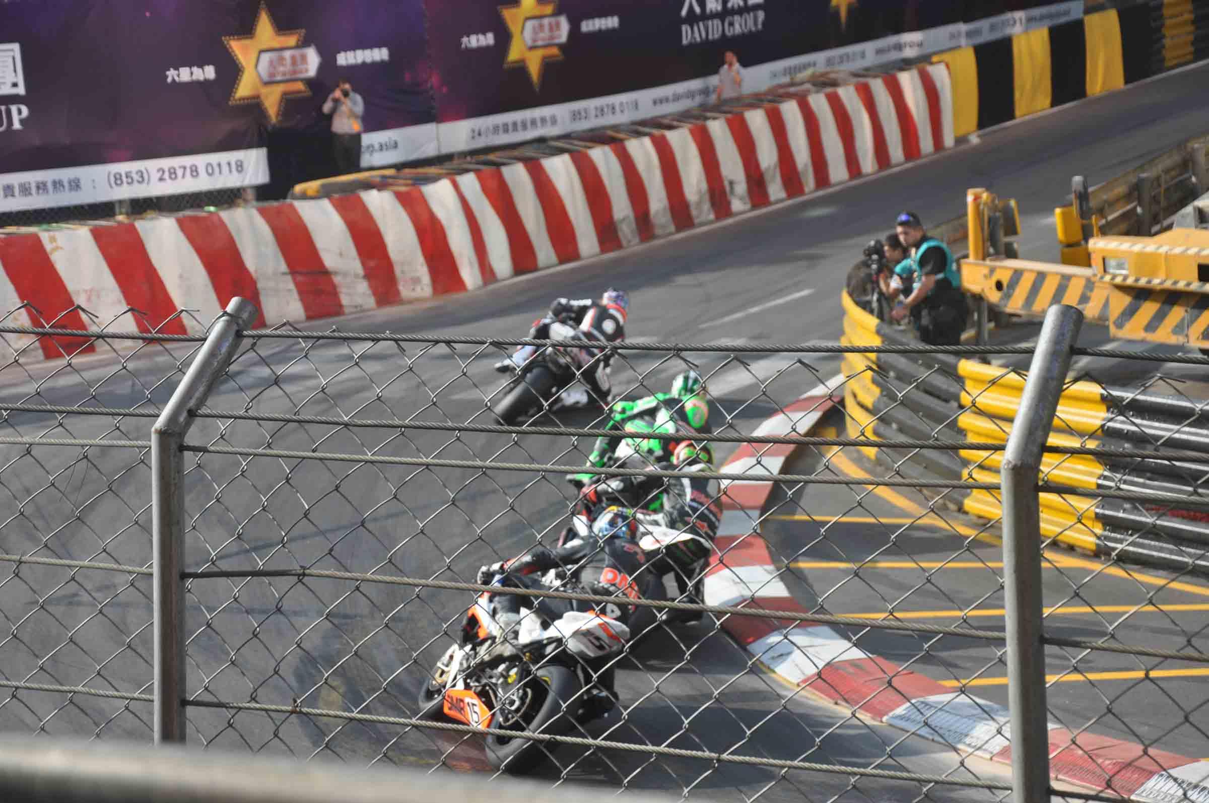 Macau F3 Grand Prix Qualifying Race motorcycle race