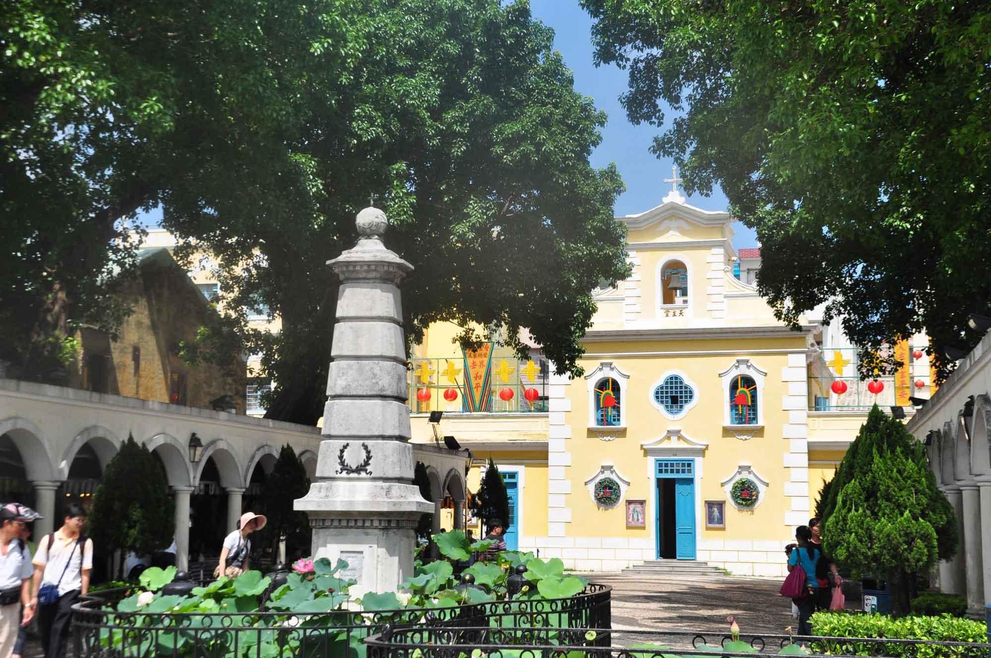 Chapel of St. Francis Xavier Macau
