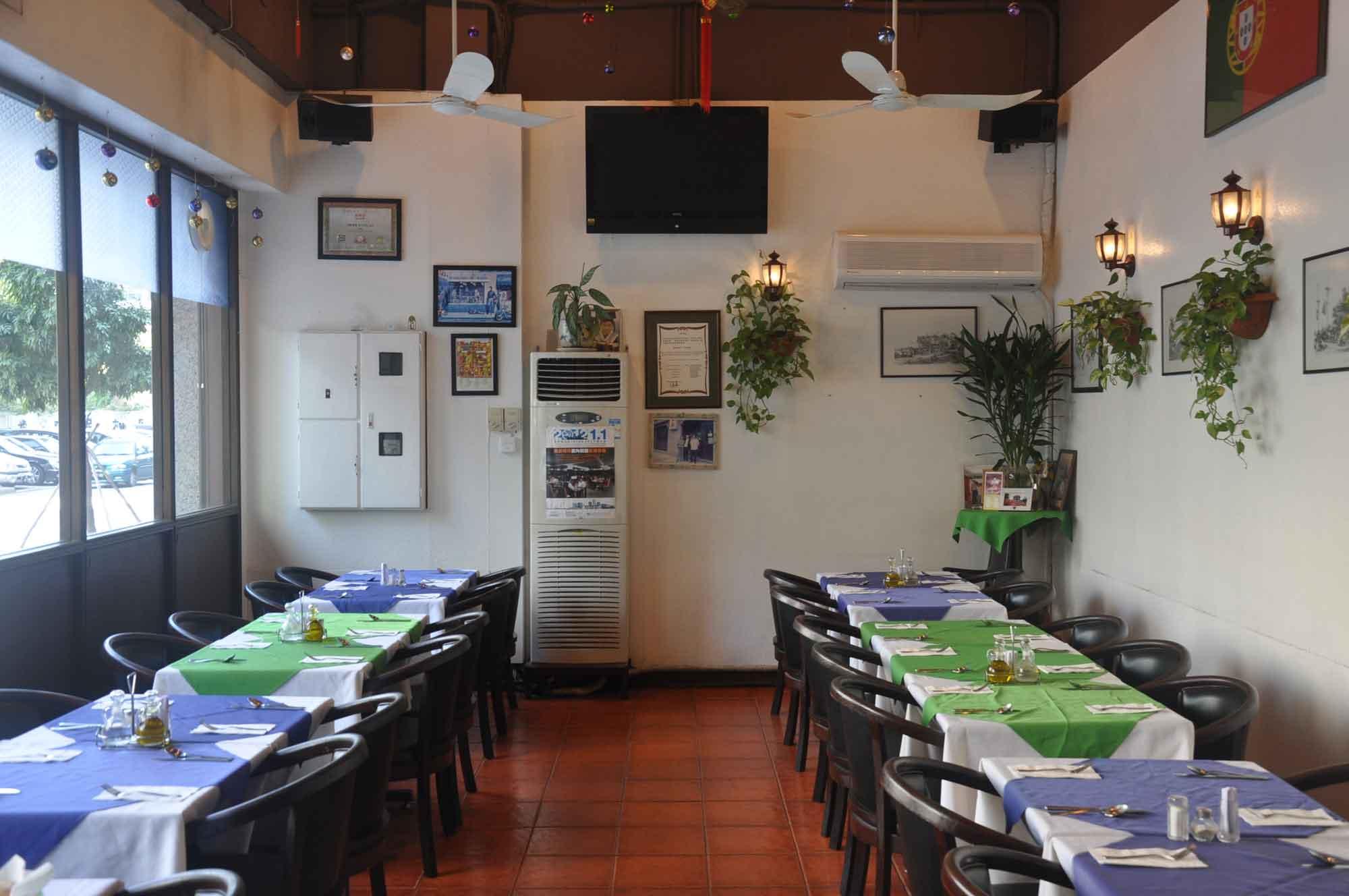 Carlos Restaurant Macau interior