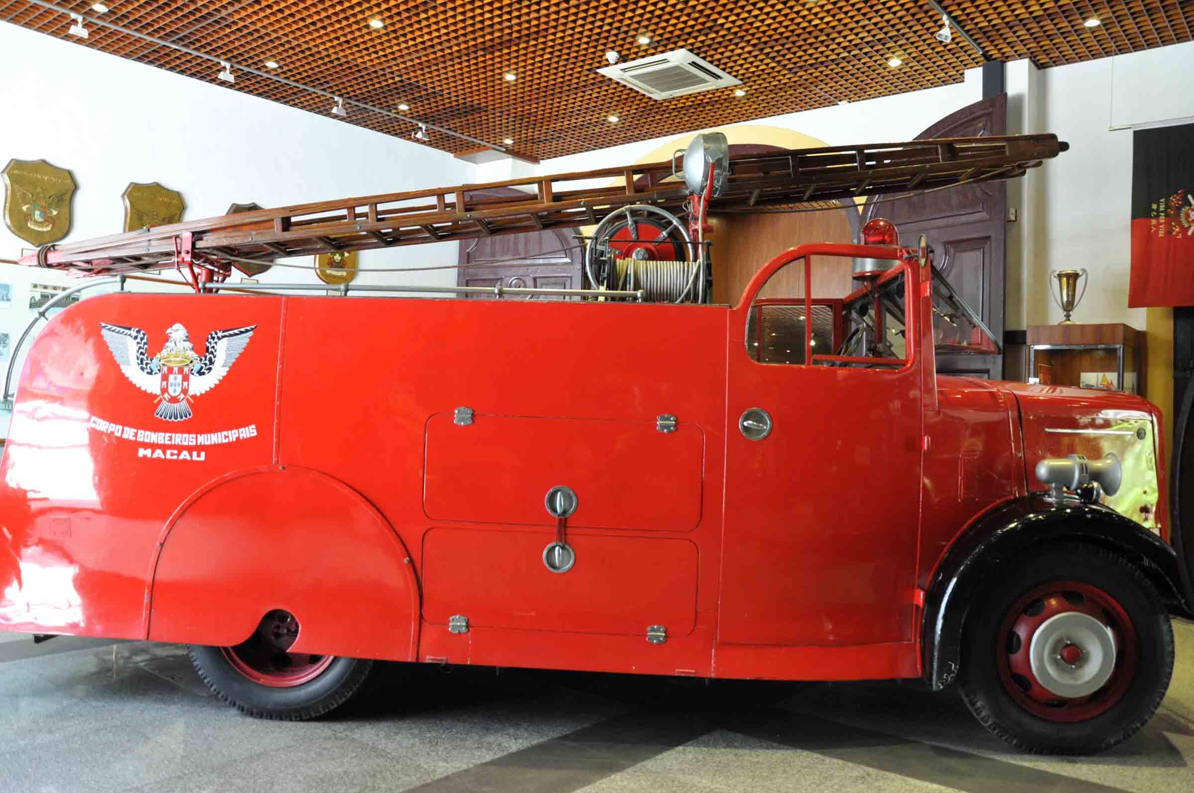 Fire Services Museum fire truck
