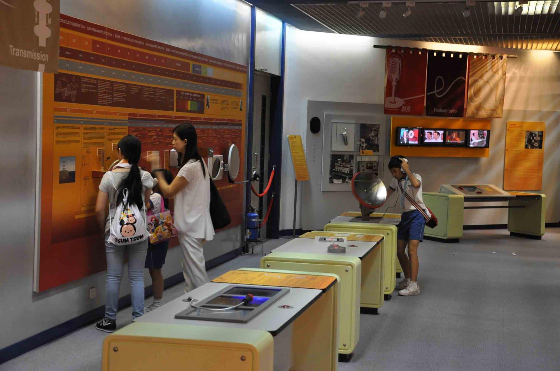 Communications Museum displays