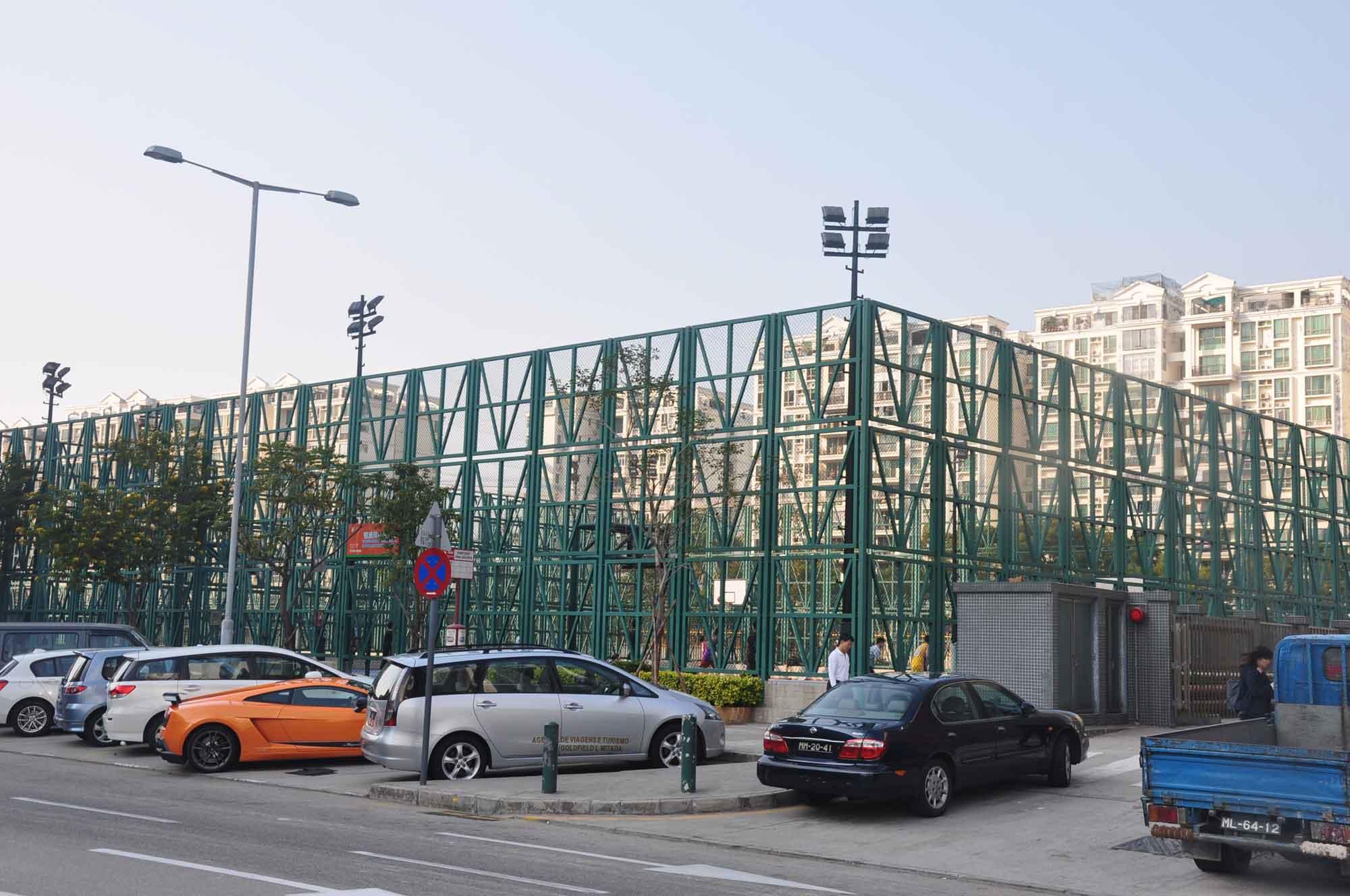 Green Island basketball cage