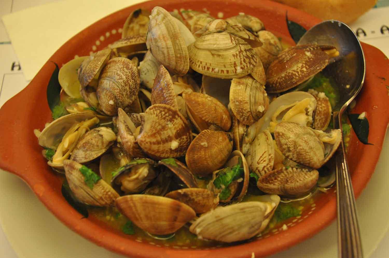 Cafe Xina Macau Clams with Garlic