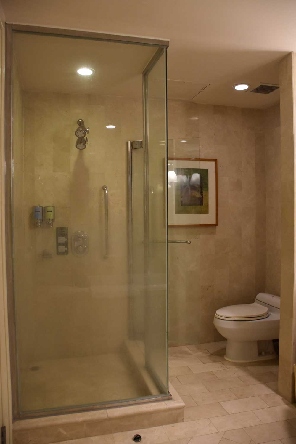 Grand Coloane Resort Grand Beach King stand up shower