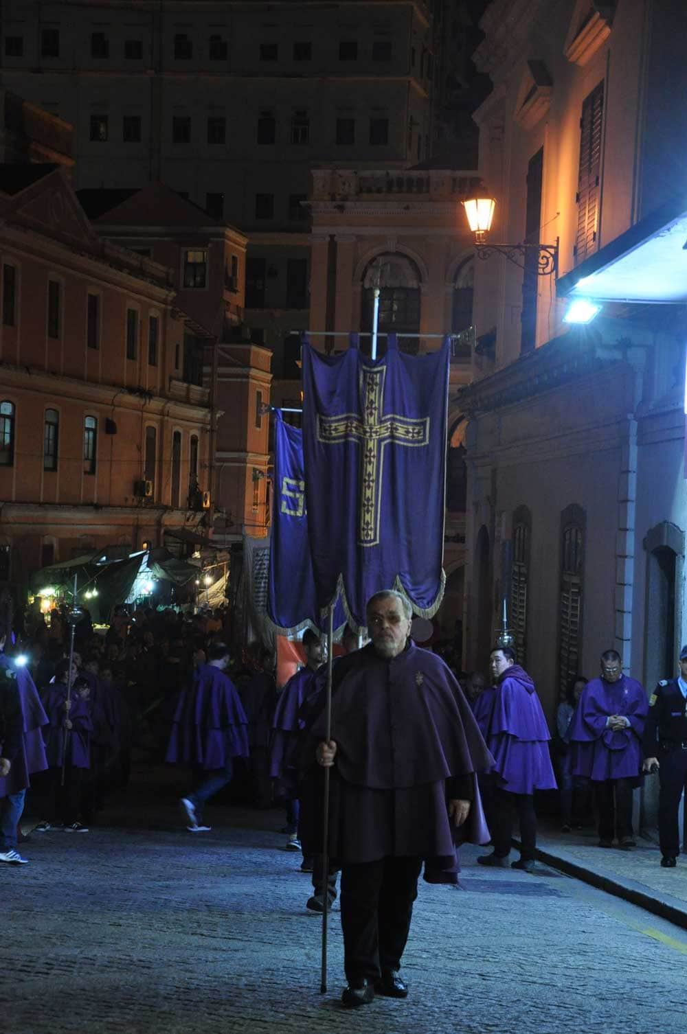 Passion of Our Lord Procession night Procession to Cathedral
