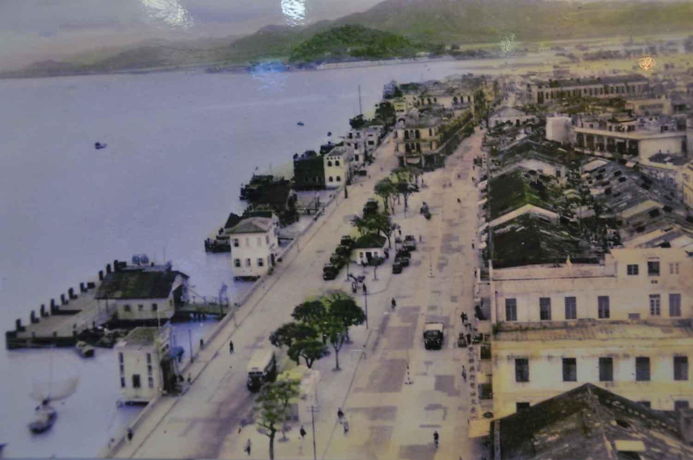 old picture of Green Island Macau