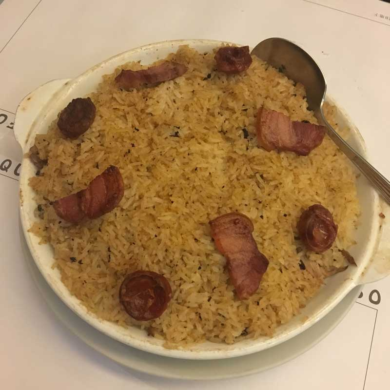 Cafe Xina Macau Duck Rice