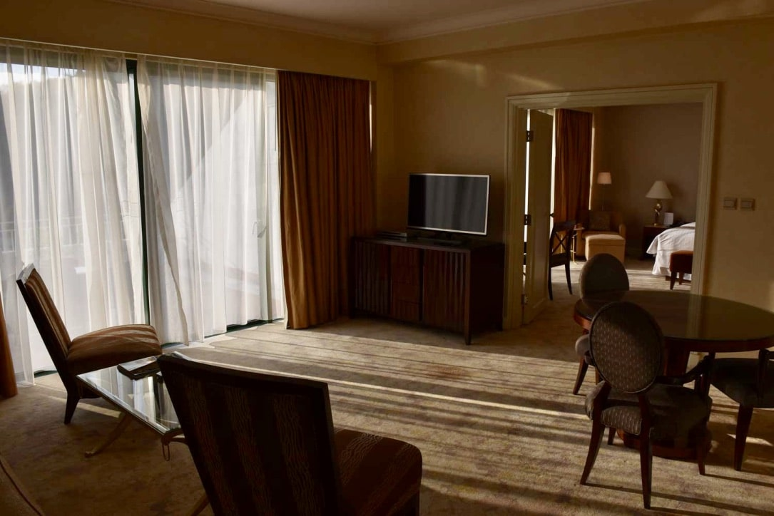 Grand Coloane Resort Suite living room