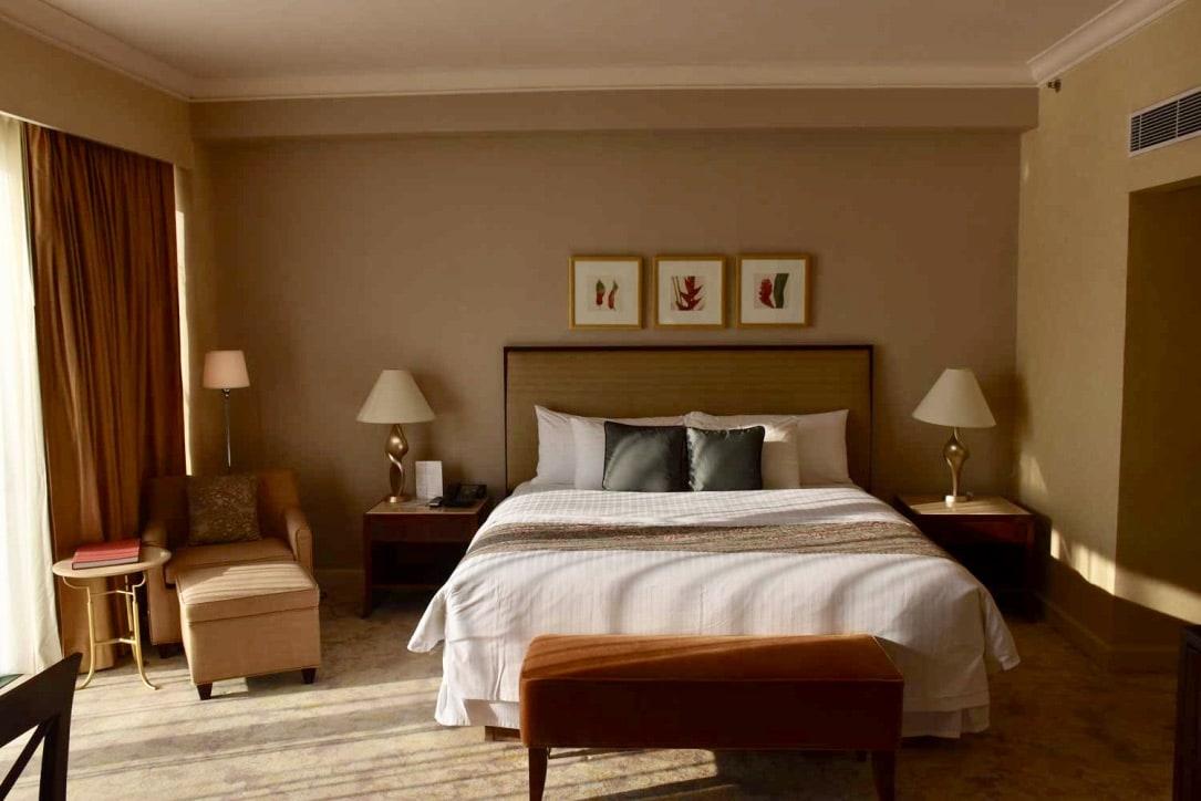 Grand Coloane Resort Suite bedroom