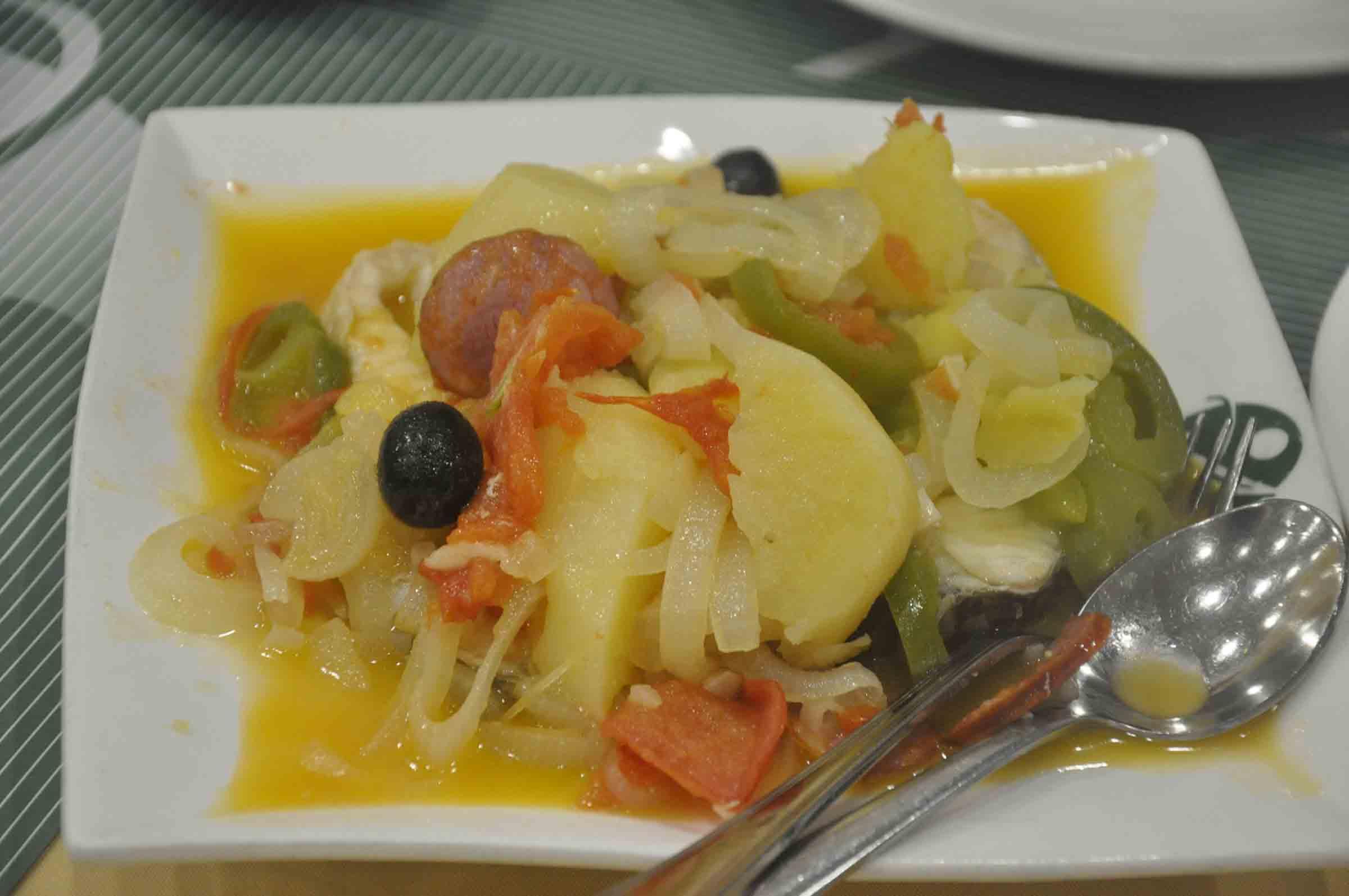 Apo Mac Restaurant stewed seabass