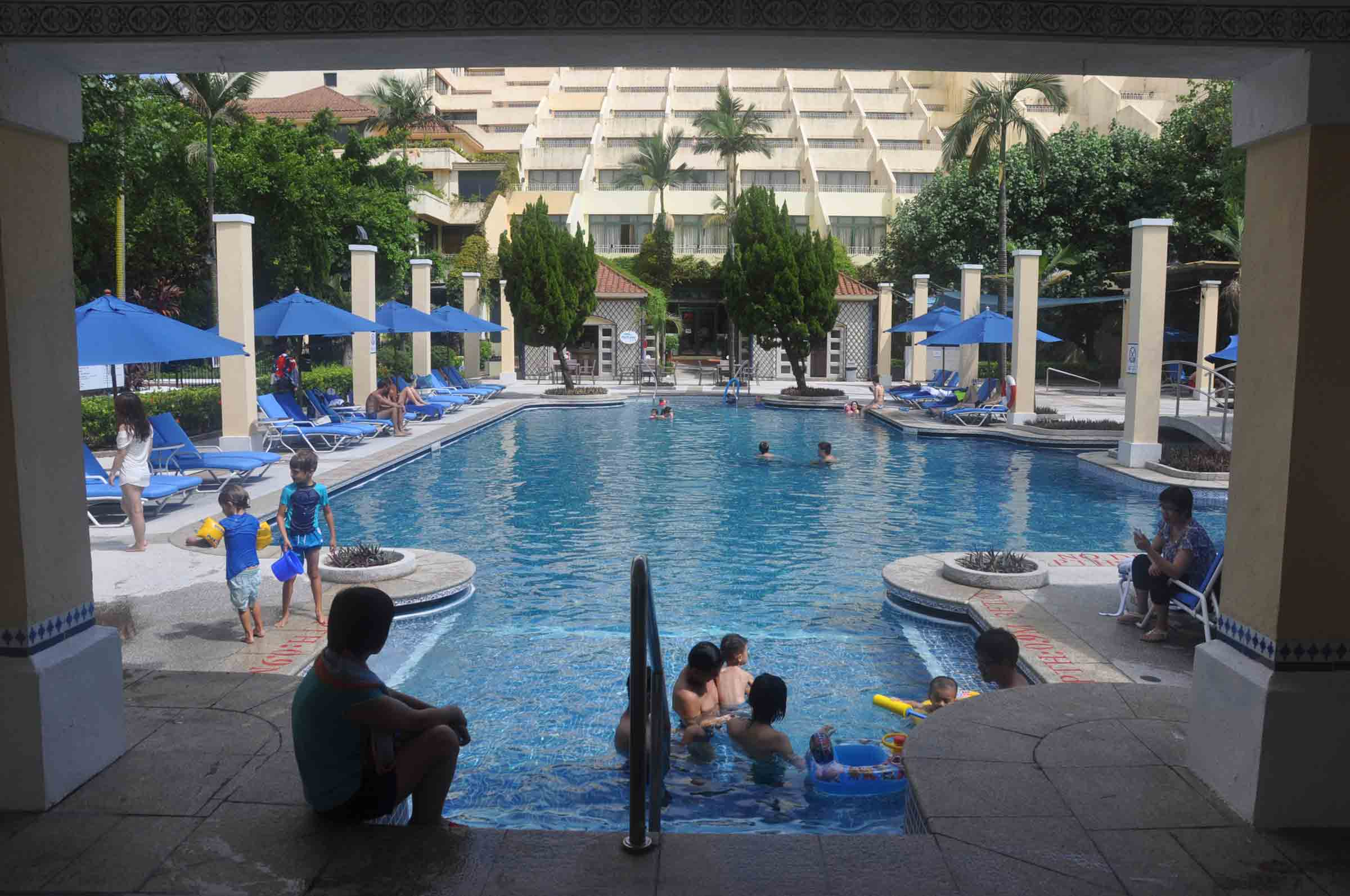 Grand Coloane Resort swimming pool