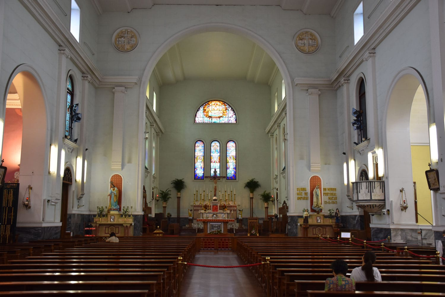 Cathedral Macau interior