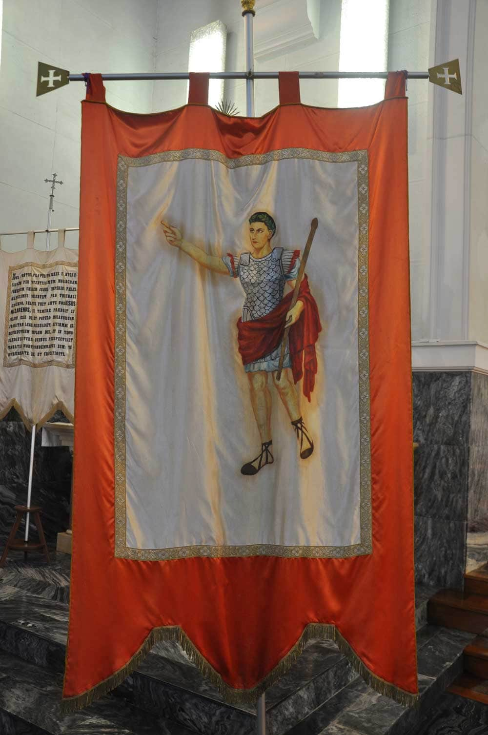 Passion of Our Lord Procession religious banner