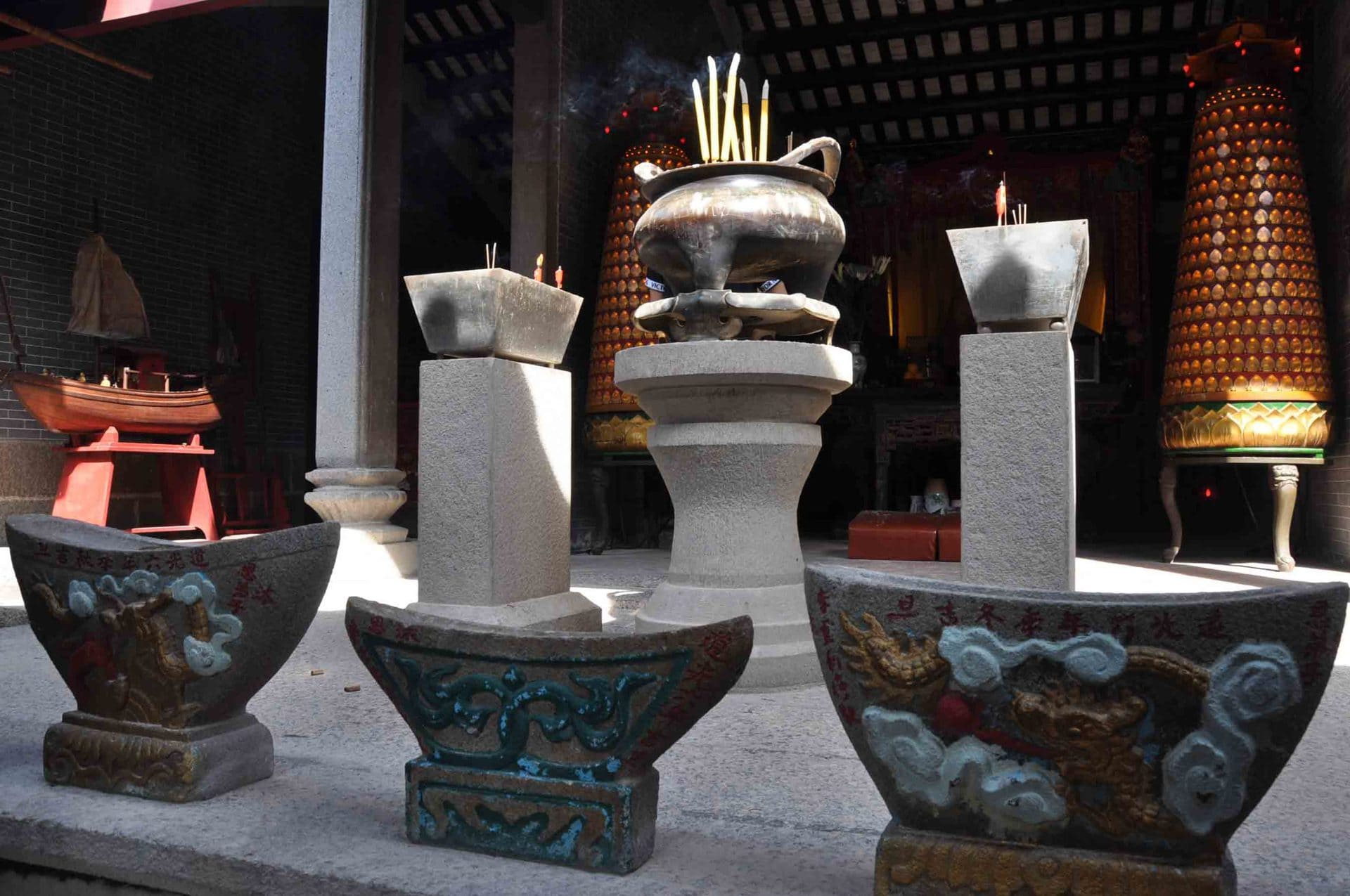 Tin Hau Temple wine boats
