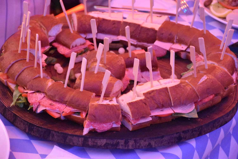Oktoberfest Macau sandwich plate